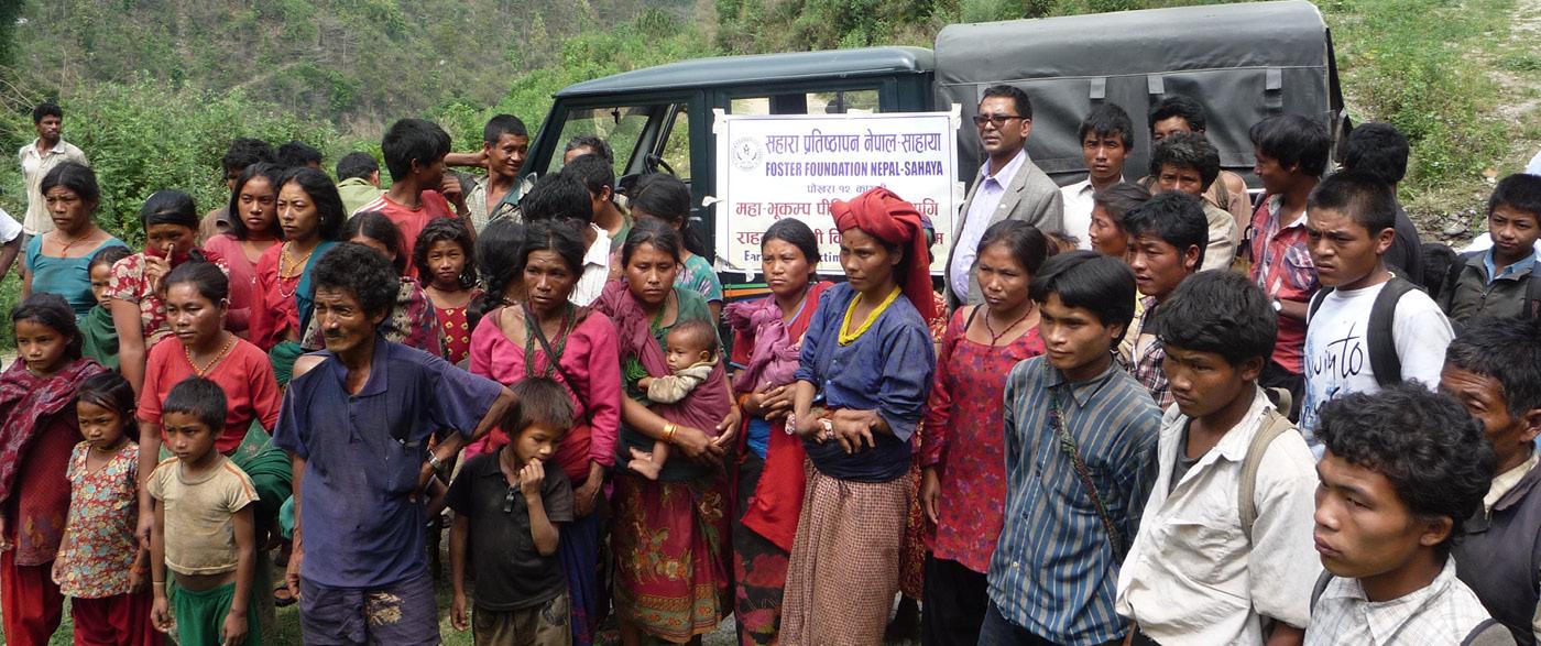 Erdbeben in Nepal - Unsere Hilfsaktionen