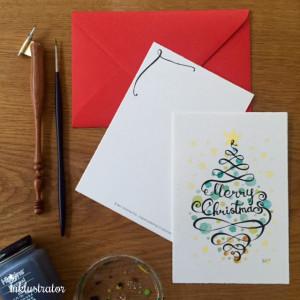 Twirl Christmas tree
