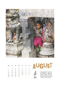 Nepal Kalender 2017 August