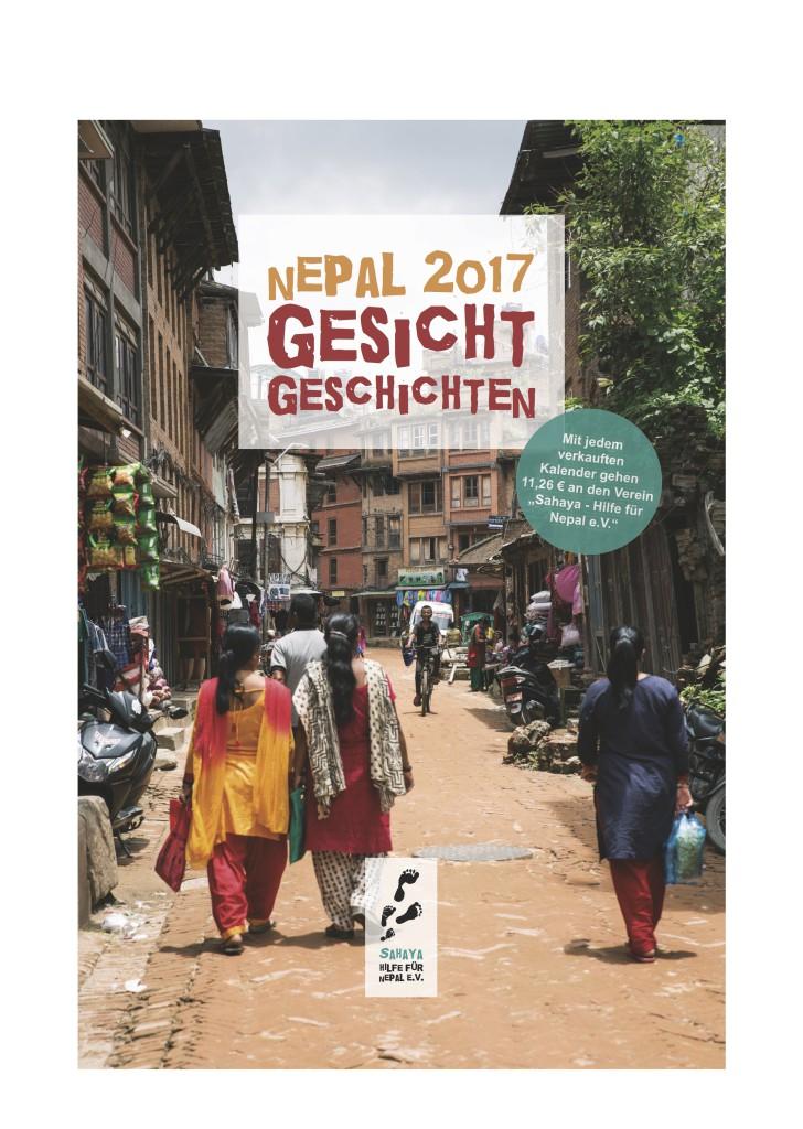 Nepal Kalender 2017 Titelblatt