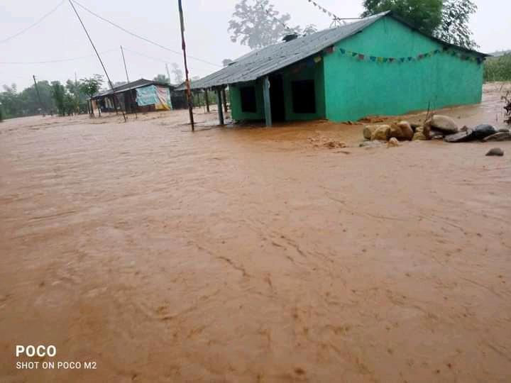 Monsun wütet in Chitwan