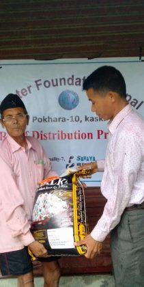 Nothilfe für unsere Familien in Chitwan