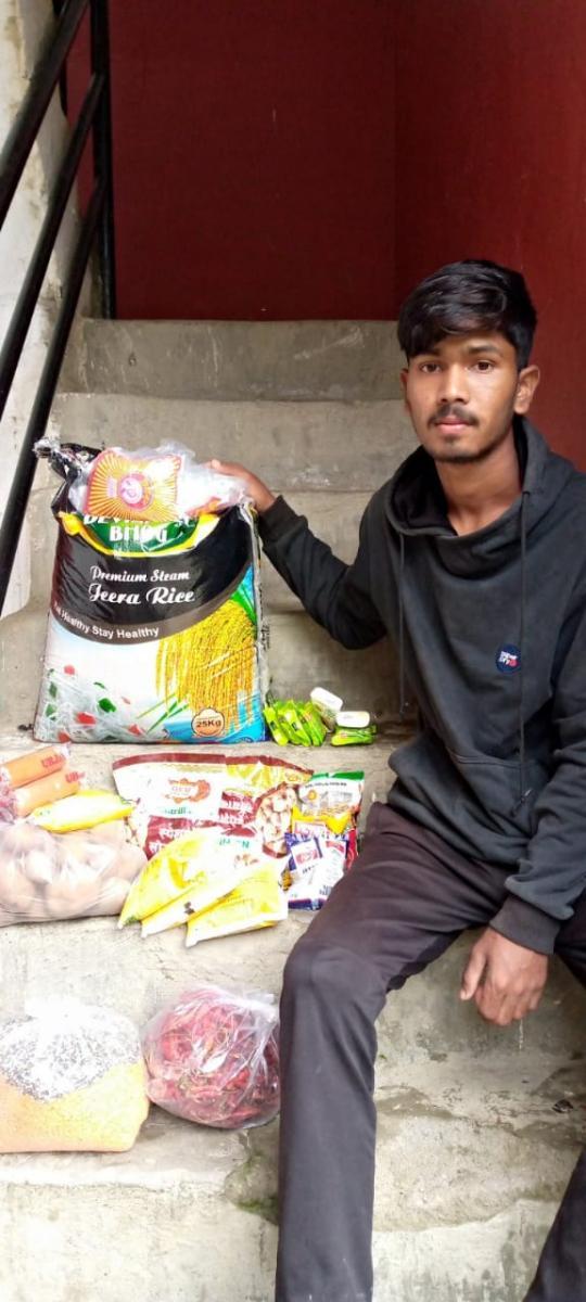 Nothilfe für unsere Familien in Chitwan (Juli 2021)